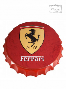 KAPSEL OZDOBNY FERRARI RED 35X4CM NEW 2019!!!